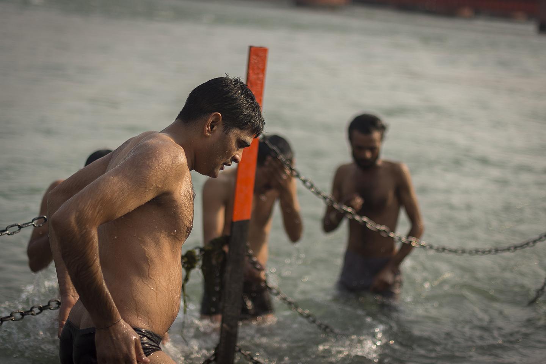 Baño en el Ganges