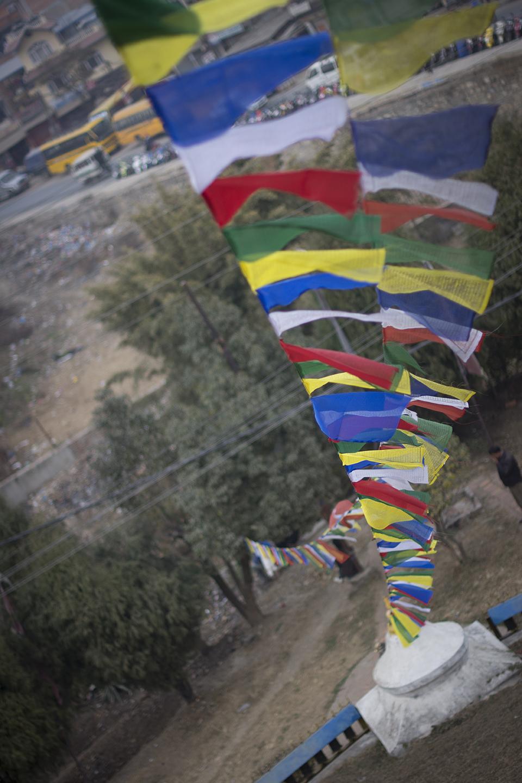 Banderas tibetanas