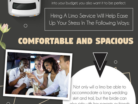 Hire a Limousine for your Wedding - Infograph