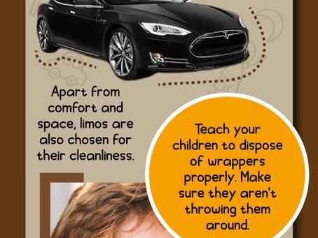 Limousine Etiquette - Infograph