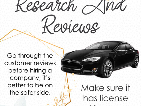 Tips To Hire the Best Limo Service - Infograph