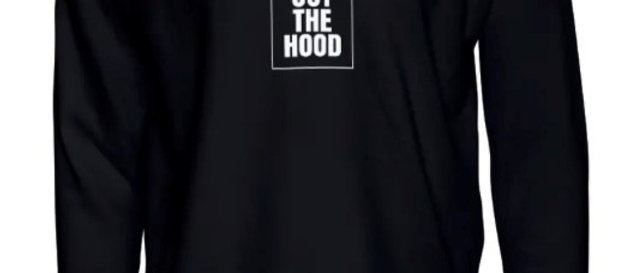 God Out The Hood - Black Crewneck