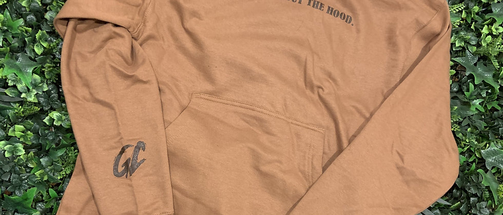 I'M A GOD OUT THE HOOD (GERMAN CHOCOLATE) HOODIE | (Limited Edition)