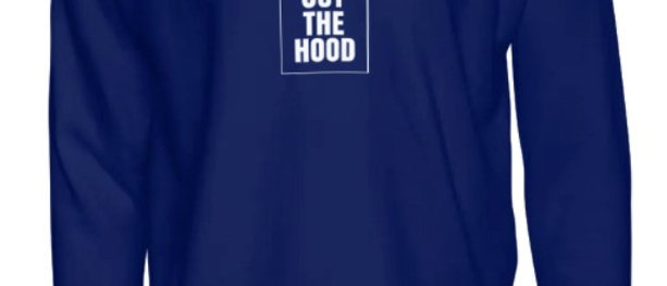 God Out The Hood - Navy Crewneck