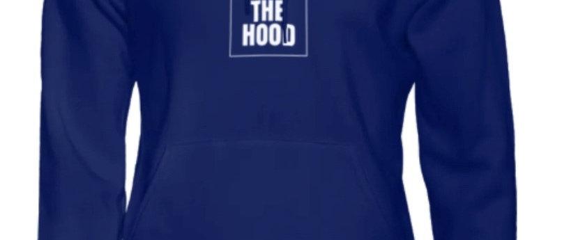 "God Out The Hood ""Ambassador Hoodie"" Navy"