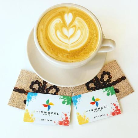 Pinwheel latte