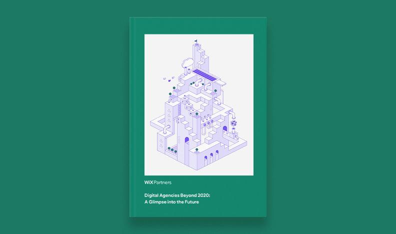 Digital Agencies in 2020 eBook cover on purple background