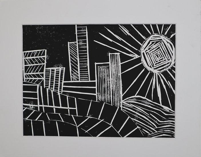 City Skyline By Rohan Kumara