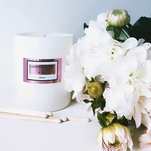 LUXURY Eunoia 100 % Pure%Natural Soy Candle with 7 essential oils