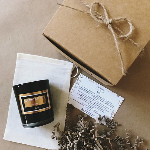 LUXURY Sulit 100 %Pure & Natural Soy Candle with 5 Essential oils