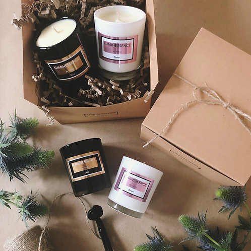100% Natural Soy Candles Discovery set