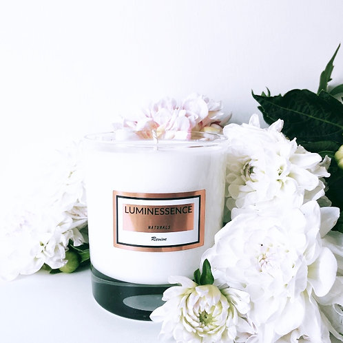 LUXURY Revive 100 % Pure & Natural Candle with 4 Essential Oils