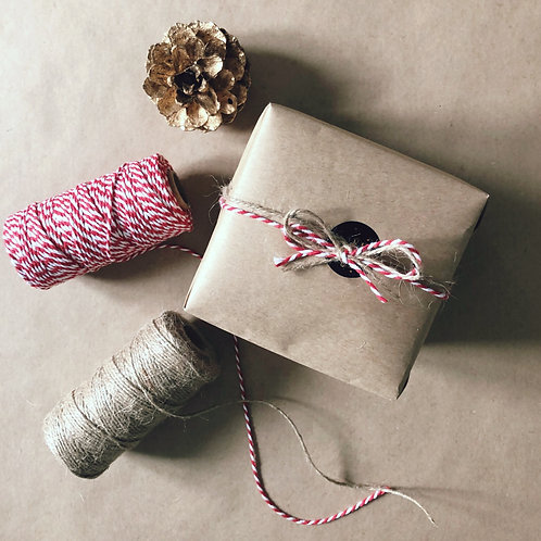 Eco -  friendly gift wrapping