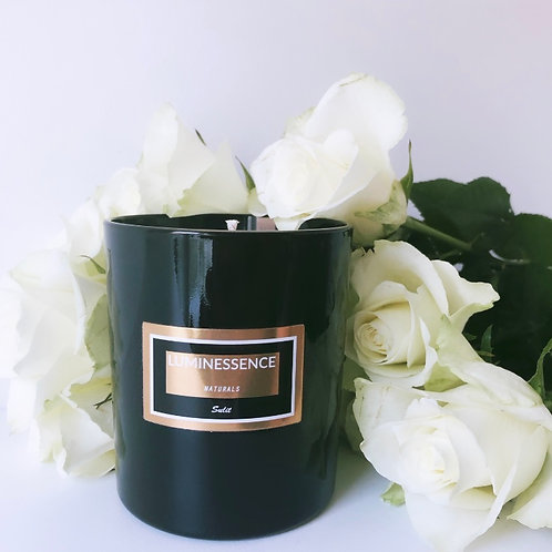 LUXURY Sulit  100 % Pure & Natural Soy Candle with 5  Essential oils