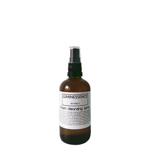 Natural Room Cleansing Spray with 5 Pure antiviral essential oils