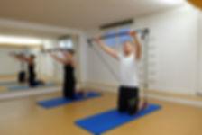 Rückengymnastik bei Pilates Wettingen