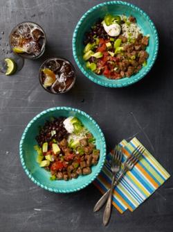 Beef Burrito Bowls