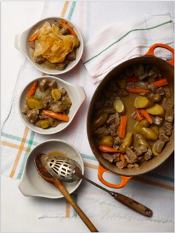 Double Smoked Lamb Stew