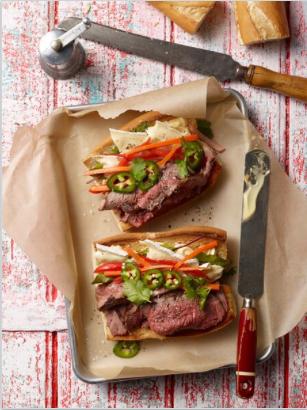 Bulgolgi Style Beef Banh Mi
