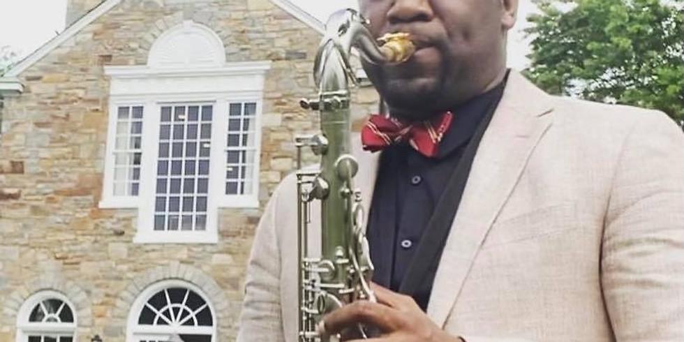 Saxophone by Brach Cobb - 1st, 3rd and 5th Saturdays