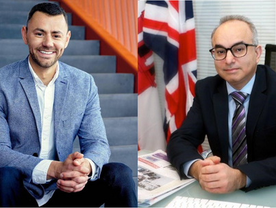 Linking Leaders: Raleigh and Gibraltar Officials