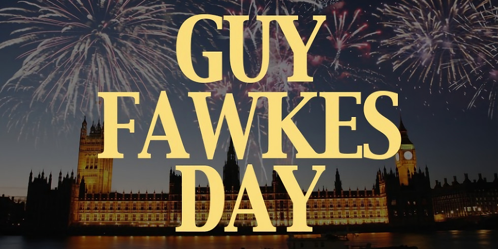 Virtual Guy Fawkes Day with Poet Julie Easley
