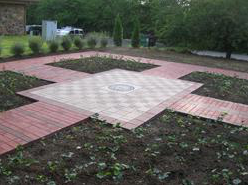 Delta Upsilon's Founder's Memorial Courtyard in Indianapolis, Indiana
