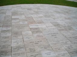 Legacy engraved brick fundraising campaign at local VFW post