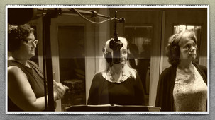 Tiffany, Barbara, Maryann in Studio