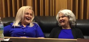 Barbara and Maryann in the Studio 2018