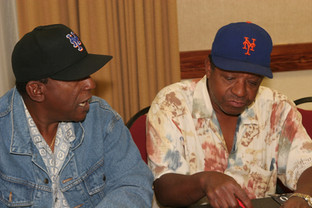 Clarence and Anthony Autographing Posters - Red Bank