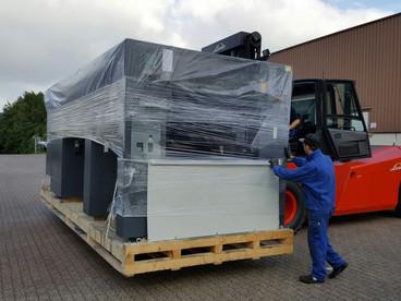 Verkauf Druckmaschine + Anlieferung und Montage