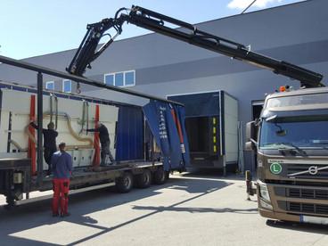 Komplettumzug inkl. Umzug der Verwaltung, Produktion und Ersatzteil-Lager in Köln