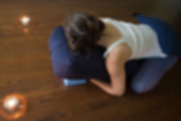 An evening of Blissful Restorative Yoga with Tabitha