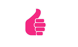 pink white thumbs up.png
