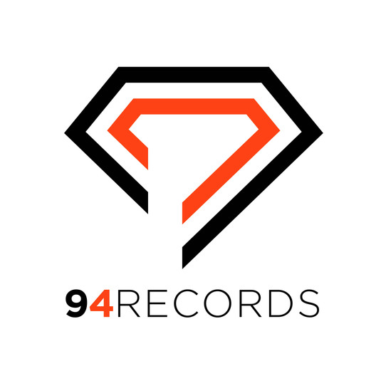 Logo 94Records_white back_blackandorange