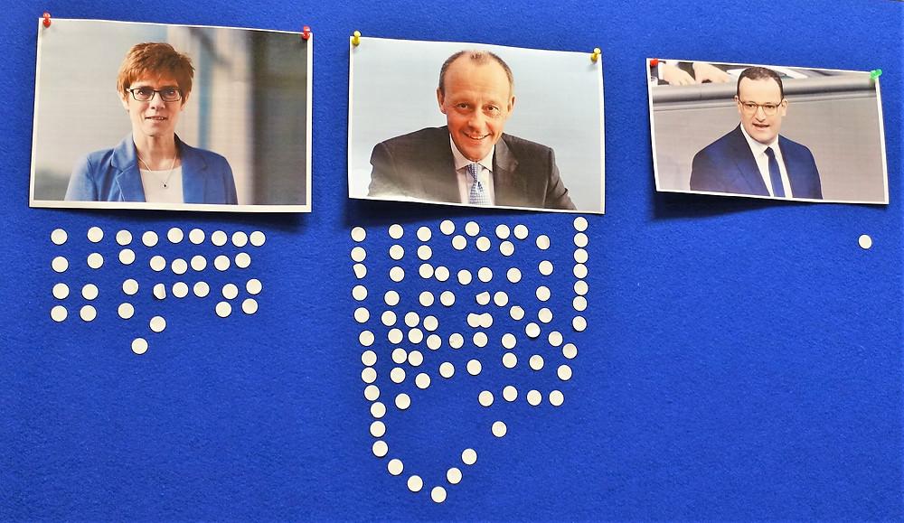 Wir haben die (Aus)-Wahl zwischen drei kompetenten, charismatischene, erfahrenen Kandidaten!