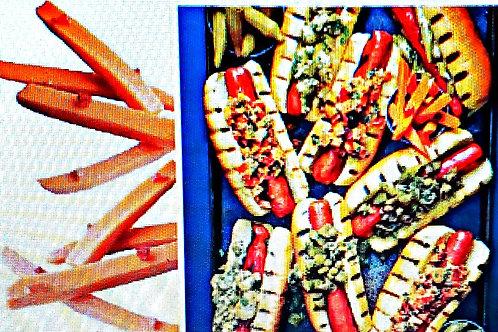 Divina Pickled Chipotle Carrot Sticks 3.3lb. (6ct.) Tins