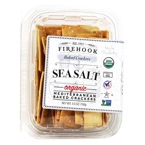 Firehook Organic Flatbread Sea Salt 5.5oz. (8ct.)