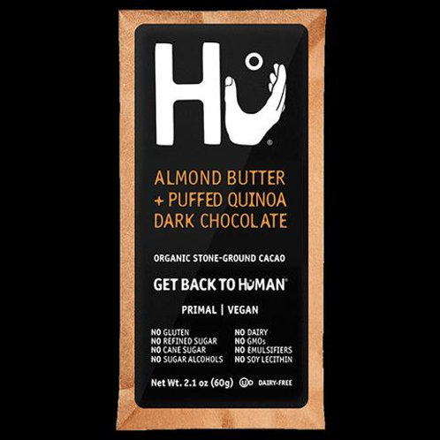 HU STONE GROUND ALMOND BUTTER + PUFFED QUINOA Box 12 - 2.1oz