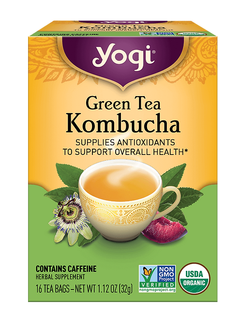 Yogi Green Tea Kombucha Tea