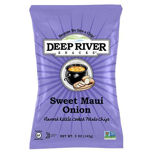 DEEP RIVER CHIPS SWEET MAUI ONION