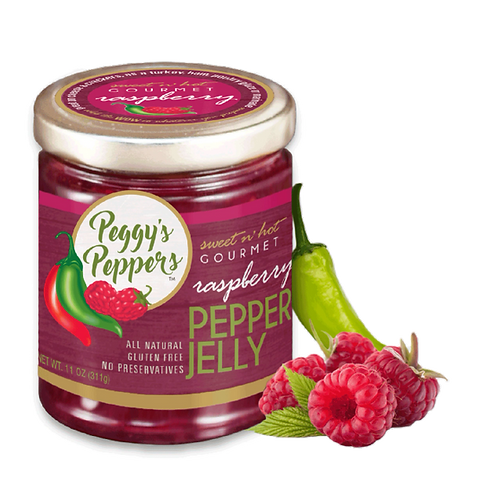 Peggy's Peppers Raspberry Pepper Jelly 11oz. (12ct.)