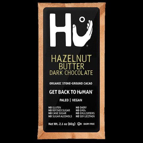 HU STONE GROUND HAZELNUT BUTTER Box 12  (2.1oz)