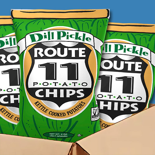 Route 11 Dill Pickle Chips 30 ct.