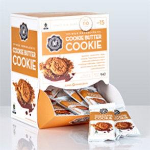 Mini Milk Cookie Butter Bar .07oz. - Per Box (50ct)