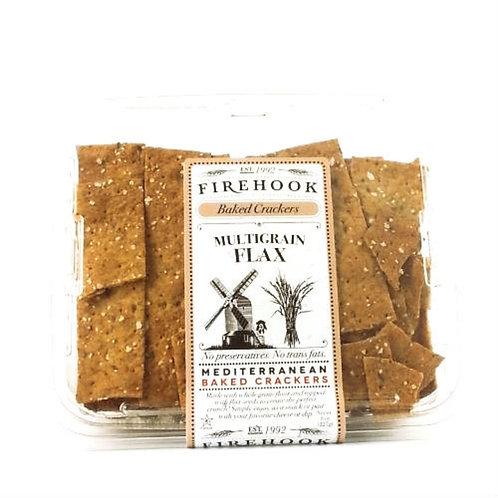 Firehook Organic Flatbread Multigrain Flax 5.5oz. (8ct.)