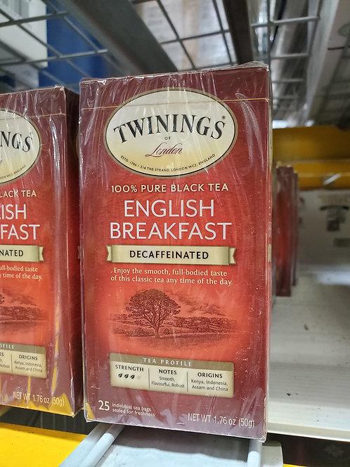 Twining's English Breakfast Tea 25ct.