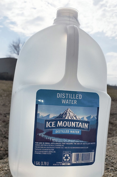 Ice Mountain Distilled Water 1 Gal. (6ct.) case