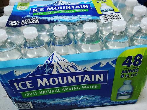 Ice Mountain Natural Spring Water 8oz. (48ct.)